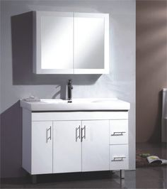 Bathroom Cabinets Bunnings forme 1200mm quay floor vanity with stone iron ore cubo | bunnings