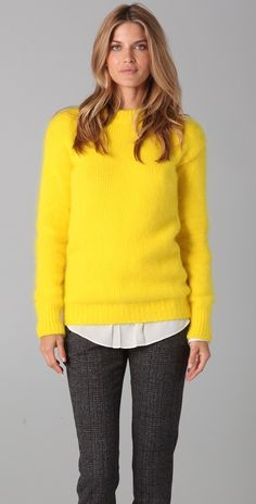 Joseph Crew Neck Angora Sweater $565. You have got to be kidding me.