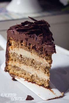 Tarta de Chocolate Cafe y Mascarpone Video Rezept Chocolate And Vanilla Cake, Choco Chocolate, Chocolate Desserts, Sweet Recipes, Cake Recipes, Dessert Recipes, Bolos Low Carb, Food Cakes, Love Cake