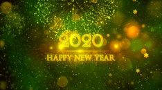 Happy New Year 2020 Happy New Year Quotes, Quotes About New Year, Happy New Year 2020, Happy Quotes, Live Wallpapers, Hd Wallpaper, Happy New Year Wallpaper, New Year Celebration, Neon Signs