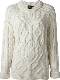 Shop McQ By Alexander McQueen cable knit sweater in Tessabit from the world's best independent boutiques at farfetch.com. Over 1000 designers from 60 boutiques in one website.