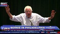 FULL SPEECH: Bernie Sanders Addresses Delegates in Philadelphia (PLUS - ...