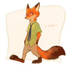 #Nick #NickWilde #Fox #ZOOTOPIA