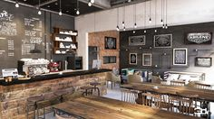 My coffee shop, coffee shop counter, coffee house cafe, coffee shop busines Industrial Coffee Shop, Rustic Coffee Shop, Small Coffee Shop, Coffee Shop Bar, Rustic Cafe, Industrial Cafe, Industrial Lighting, Coffee Shops, Industrial Closet