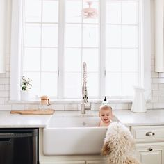Sink baths are a great way to tell your story with littles.