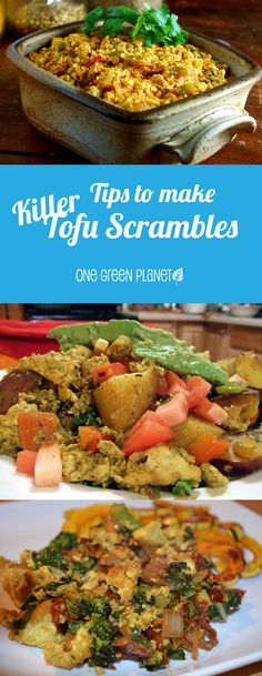 http://onegr.pl/1zz9q9D #vegan #vegetarian #tofu #scrambles #breakfast #recipes
