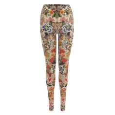 ALEXANDER MCQUEEN | Trousers & Skirts | Patchwork Floral Leggings