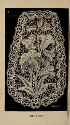 The Honiton lace book