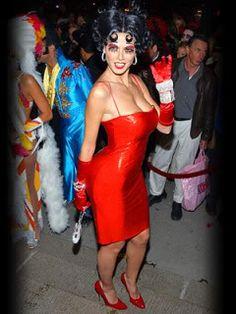 heidi-klum-halloween-Betty-Boop-costume | My Fav Holiday ...