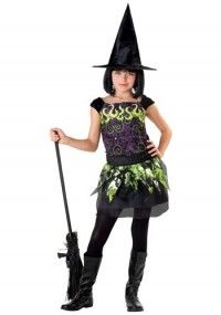 Child Spellcaster Witch Costume - Online Shop! : Online Shop!