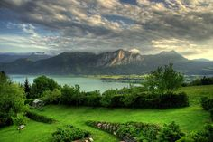 Mondsee, Austria - one of my favorite places in the world. Stay at the Hotel Schloss Mondsee. You're welcome.