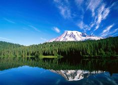 Top Washington Vacation Destinations and Some Travel Tips Computer Desktop Backgrounds, Desktop Background Images, Computer Wallpaper, Beautiful Sky, Beautiful Landscapes, Vacation Destinations, Mount Rainier, Traveling By Yourself, Travel Tips