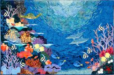 Under the Sea - Love the dimension in this quilt