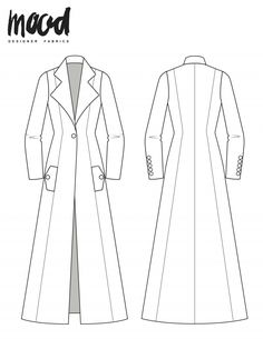 3861015dfbad The Zinnia Jacket - Free Sewing Pattern - Mood Sewciety Patrons De Couture  Gratuits, Cours
