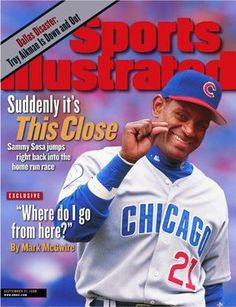 bf1ea58907 Show details for Sammy Sosa of The Cubs Sammy Sosa, Sports Magazine Covers,  Cubs