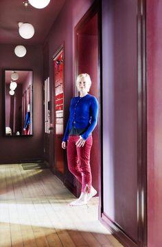 Synne Skjulstad colored Oslö interior