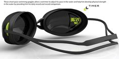 My Pace Goggle - Swimming Google to track your Swim COOLEST THING EVER!