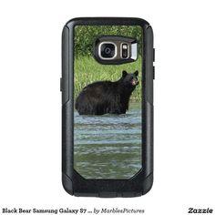 Black Bear Samsung Galaxy S7 Case