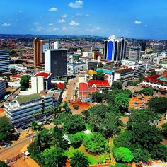 It was a beautiful afternoon today in Kampala. Tomorrow is Eid which has been declared a public holiday  #noworkmonday #publicholiday