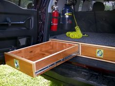 Awesome DIY Storage Solution - Nice work! Rear Storage Solutions (12 Articles) - & 56 best Creative DIY SUV u0026 Truck Bed Storage images on Pinterest ...
