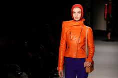 5 big trends from Paris Fashion Week  ||  Models present creations by designer Olivier Lapidus, as part of his Autumn/Winter 2018-2019 women's ready-to-wear collection show for fashion house Lanvin, during Fashion Week in Paris. Pascal Rossignol, Reuters PARIS -- Balaclavas, headscarves, feisty feminism and the warming glow of yellow and burnished gold... We pick out the biggest trends in the autumn-winter 2018-2019…