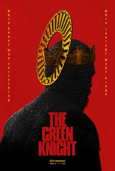 has released the poster for David Lowery's upcoming The Green Knight starring Dev Patel, Alicia Vikander, Joel Edgerton, and Sean Harris. Joel Edgerton, Alicia Vikander, Sean Harris, Joaquin Phoenix, David Lowery, Dev Patel, Poppy And Branch, Green Knight, Knight