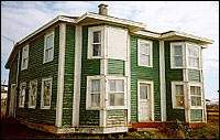 About Nurse Myra Bennett House, a Registered Heritage Structure located in Daniel's Harbour, NL. Order Of Canada, Milk The Cow, Medical Careers, Heritage Foundation, Merchant Marine, Slip And Fall, Newfoundland And Labrador, Property Search, Bay Window