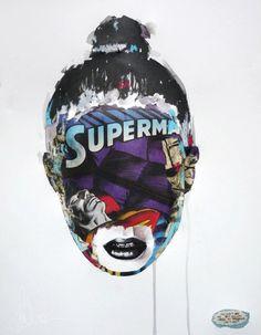 Sandra Chevrier Action Comics 1, A Comics, Disguise Art, Sandra Chevrier, Superman Love, Comic Art, Comic Books, Wildest Fantasy, Bonnie Tyler