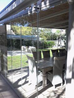 Frameless Glass Door Suppliers & Installers in Cape Town Sliding Glass Door, Sliding Doors, Stacker Doors, Extension Designs, Glass Room, Panel Doors, Glass Panels, Nice View, Door Handles