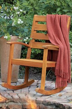 Rocking chair. 2 for the front porch please. Espresso I think. May 1 ok?