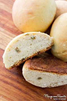 Pão de Azeitonas Verdes, para ver a receita, clique na imagem para ir ao Manga com Pimenta.