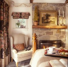 Grandpa's Cottage Fireplace            Interior concepts inc