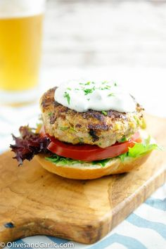 Zucchini Turkey Burger