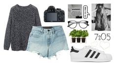 """And I never like to admit that I was wrong"" by draaayya ❤ liked on Polyvore featuring Toast, Boskke, Alexander Wang, adidas Originals and ZeroUV"