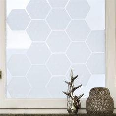 Origo Tiles window screen film - 15,5x13,4 cm - Siluett Frost :: scandinavian design center