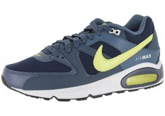 Heren Nike Air Max Command Donkerblauw Groen Volt 956752af93a
