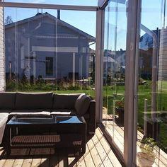 Sisteme din sticla pentru inchidere terasa | 7 ani garantie Outdoor Decor, Home Decor, Decoration Home, Room Decor, Interior Design, Home Interiors, Interior Decorating