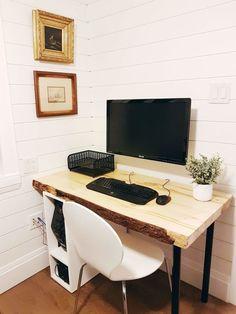 Home office desk design ideas Organization How To Hide Desk Cords With Custom Box Home Office Designhome Pinterest 323 Best Home Office Ideas Images In 2019 Desk Ideas Office Ideas