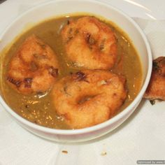 Vada Sambar - Peacock Indian Cuisine - Zmenu, The Most Comprehensive Menu With Photos