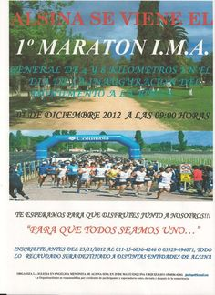 1er Maratón I.M.A. en Alsina