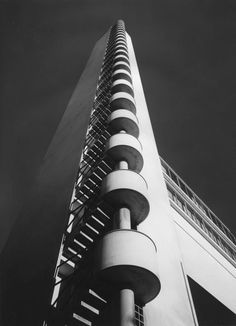 Yrjö Lindegren and Toivo Jäntti - Olympic Stadium - Helsinki, 1938 Helsinki, Contemporary Architecture, Architecture Details, Olympia, Finland, Tower, Black And White, Image, Functionalism