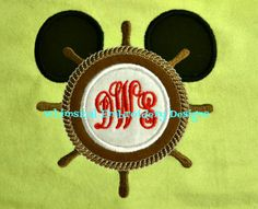 Applique Mouse Helm Machine Embroidery by WhimsicalEmbroidery, $4.00