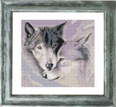 """схема для вишивки картини """"Сірі вовки"""" ціна, купити. схема для вишивки картини…"""