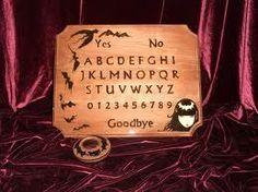 Strange Ouija Board by