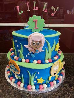 Bubble Guppies Cake www.GGCupcake.com