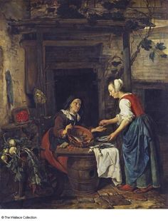 Metsu - An Old Woman Selling Fish