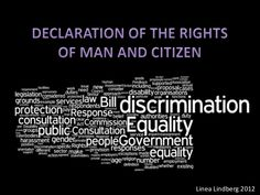 declaration of the rights of man and citizen | Declaration of the rights of man and citizen