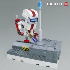 BURN - E Comes to the Brick
