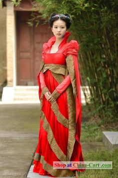 4f84623c73 Chinese Ancient Princess Bride Wedding Dress