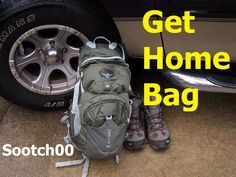 Good Get Home Bag video.  Shows the items in the bag, the bag itself, and why each item matters.